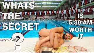 PERFECT Morning Swim Practice