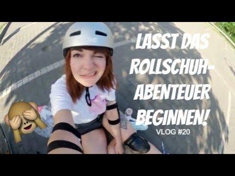 Das Rollschuh-Abenteuer startet! | Weekly VLOG #20