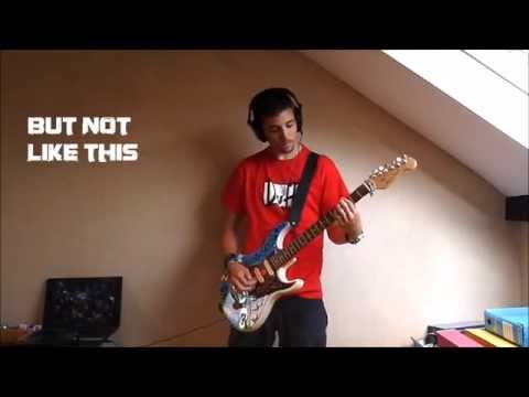 NICKELBACK - Never Again (Guitar Cover) + TABs & Lyrics