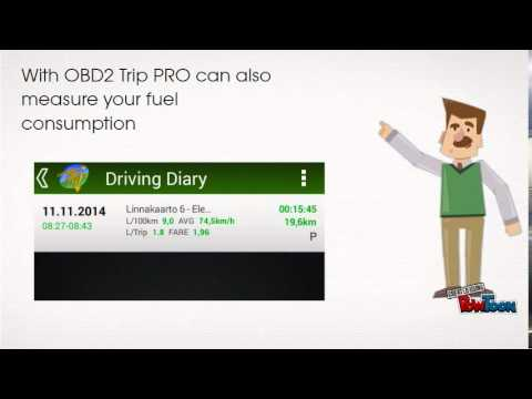 Video of Driving Diary - Trip PRO