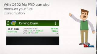 Driving Diary - Trip PRO YouTube video