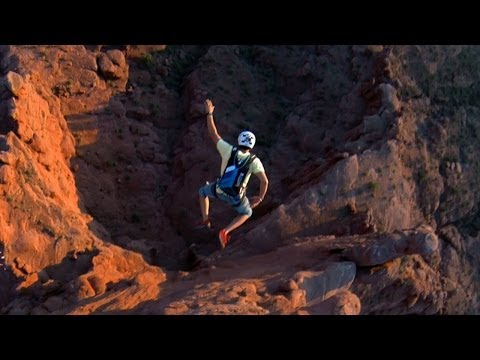 moab - The sixth of the HERO3+ Adventure Series. Hayley Ashburn and Marshall Miller ascend and leap from Ancient Art in the Fishers Towers. Shot 100% on the HD HERO...