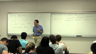 Chem 203. Organic Spectroscopy. Lecture 01. Introduction.