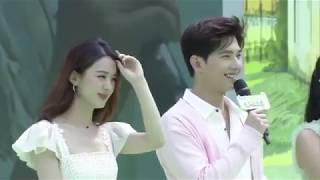 Engsub - Yang Shuang - Comparisons between Love O2O and Jasmine Tea Press Conference