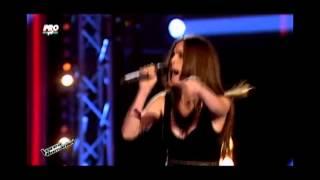 Maria Hojda -  A little party never killed nobody Vocea Romaniei 2014