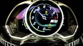 Video Lamborghini Aventador LP 700-4 Roadster - Tacho MP3, 3GP, MP4, WEBM, AVI, FLV Juni 2017