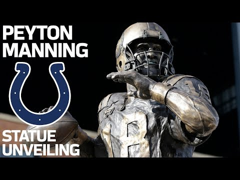 Video: Peyton Manning: 'I Will Always Be A Colt' | Peyton Manning State Ceremony | NFL Legend
