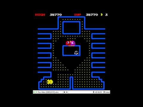 Pac-Men (Sharp X68000) Rounds 1-6