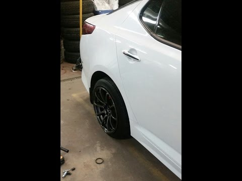 ADVAN WHEELS ON MY KIA OPTIMA