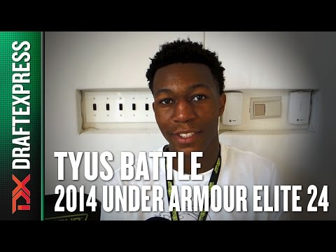 2014 Tyus Battle Interview - DraftExpress - Under Armour Elite 24