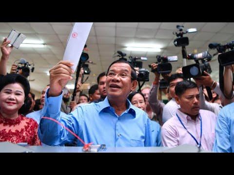 Kambodscha: Regierungspartei erklärt sich zum Wahlsieger