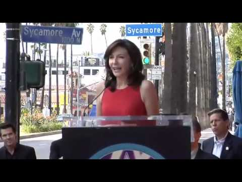 Mary Steenburgen Walk of Fame Ceremony