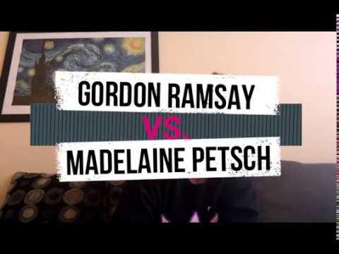 REACTING TO   Gordon Ramsay vs Madelaine Petsch In VEGAN MASTERCHEF COOK OFF!
