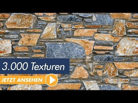 Das große Texturenpaket - 3.000 Texturen - Trailer