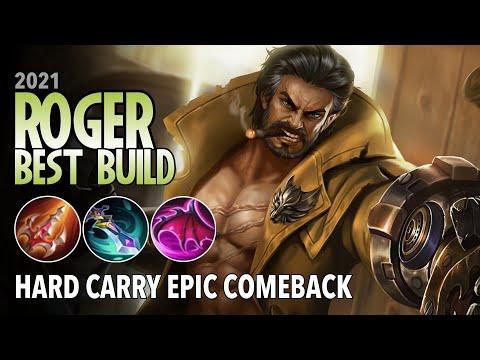 Roger Best Build for 2021 | Top 1 Global Roger Build | Roger Gameplay - Mobile Legends: Bang Bang