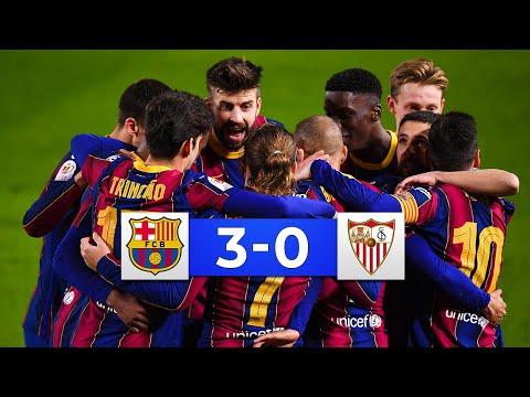 COMEBACK COMPLETED! Barcelona vs Sevilla 3-0 - All Goals & Highlights 2021