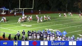 Norwood vs. Milton Football Highlight