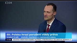 EK: V Polsku hrozí porušení vlády práva