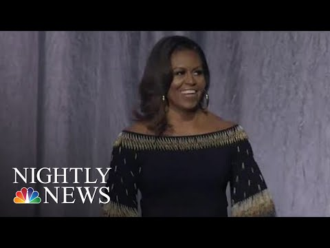 Michelle Obama Makes Apparent Criticism Of President Donald Trump | NBC Nightly News