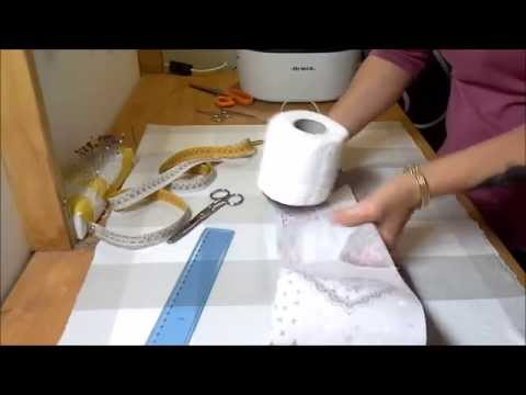 Cucito creativo: come fare un porta rotoli di carta igienica