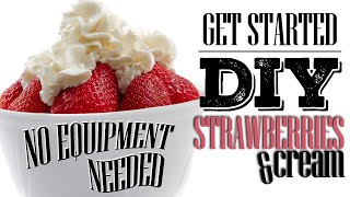 DIY eLiquid Recipe   GETTING STARTED   STRAWBERRIES AND CREAM   NO SCALE REQUIRED