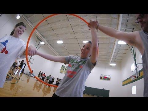 Video thumbnail: Student-athletes hosts Olympians