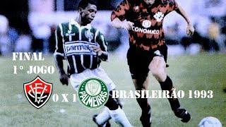 Palmeiras Campeão do Campeonato Brasileiro 1993 Vitória 0 x 1 PalmeirasDia: 12/12/1993 Escalações Vitória Dida Rodrigo...