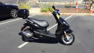 7. Contra Costa Powersports-Used 2014 PIAGGIO FLY 150 motorscooter with auto transmission