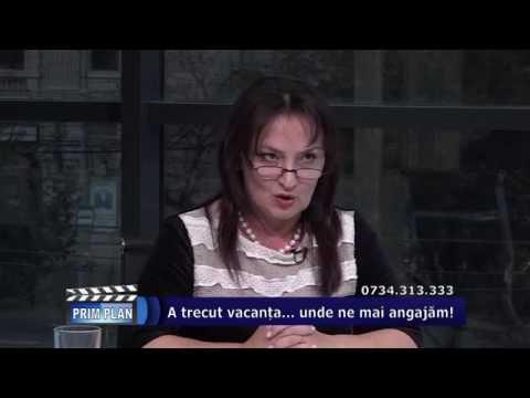 Emisiunea Prim-Plan – 27 septembrie 2016 – Invitat, Cristina Stoichici