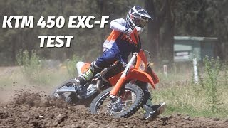 6. KTM 450 EXC-F Enduro Bike Test
