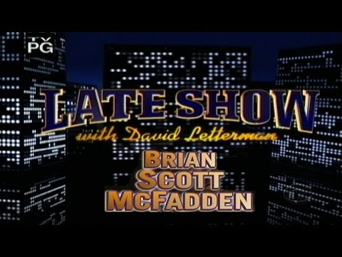 What Women Want - Brian Scott McFadden on The Late Show w/David Letterman