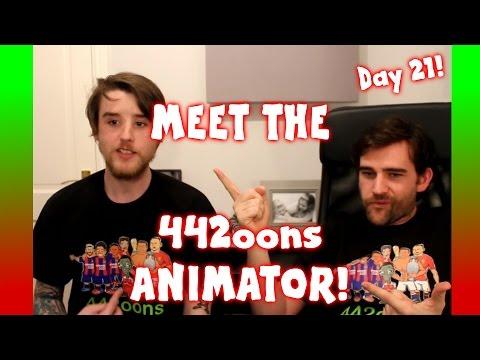 MEET THE 442oons Animator! Sam! (Day 21 Football Advent Calendar)