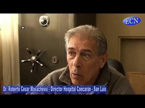 Entrevista con el nuevo director del hospital de Concarán:
