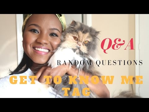 Q&A! GET TO KNOW ME TAG | Hauwa Indimi