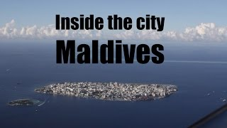 Male city is the capital of the Maldives, it is one of the most densely populated cities in the world. Worth a visit to see the other side...