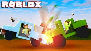 """In today's Roblox Adventure, Denis and Corl attempt the biggest car crash ever in the Car Crash Simulator gamemode in Roblox!► Subscribe for more! -- http://bit.ly/ThePalsSubscribe► Follow us on Twitter! -- https://twitter.com/SubZeroExtabyteJoin us in our Roblox Adventures as we play through various Roblox Gamemodes from Roblox High School, Roblox Apocalypse, Roblox Prison, Roblox Dating and more! Make sure to subscribe for me Roblox Adventures!▶ MORE VIDEOS!Roblox Adventures -- http://bit.ly/ThePalsAdventuresBest of The Pals -- http://bit.ly/BestOfThePalsMost Recent -- http://bit.ly/PalsMostRecent▶ CHECK OUT THE PALS!Denis -- http://youtube.com/denisdailyCorl -- http://youtube.com/corlAlex -- http://youtube.com/alexcraftedSketch -- http://youtube.com/SketchRobloxMoreSub -- http://youtube.com/SubRobloxMoreWhat is ROBLOX? ROBLOX is an online virtual playground and workshop, where kids of all ages can safely interact, create, have fun, and learn. It's unique in that practically everything on ROBLOX is designed and constructed by members of the community. ROBLOX is designed for 8 to 18 year olds, but it is open to people of all ages. Each player starts by choosing an avatar and giving it an identity. They can then explore ROBLOX — interacting with others by chatting, playing games, or collaborating on creative projects. Each player is also given their own piece of undeveloped real estate along with a virtual toolbox with which to design and build anything — be it a navigable skyscraper, a working helicopter, a giant pinball machine, a multiplayer """"Capture the Flag"""" game or some other, yet-to-be-dreamed-up creation. There is no cost for this first plot of virtual land. By participating and by building cool stuff, ROBLOX members can earn specialty badges as well as ROBLOX dollars (""""ROBUX""""). In turn, they can shop the online catalog to purchase avatar clothing and accessories as well as premium building materials, interactive components, and working mechanisms.► Music Cr"""
