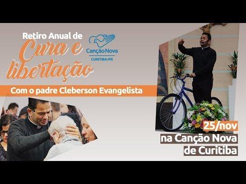Retiro anual de cura e libertação na Canção Nova de Curitiba