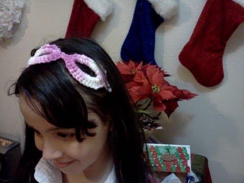 Cintillos a crochet fáciles - Imagui