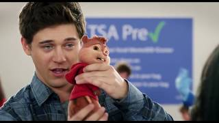 Nonton Alvin And The Chipmunks The Road Chip 2015  Funny Scene    Airport Examination     Film Subtitle Indonesia Streaming Movie Download