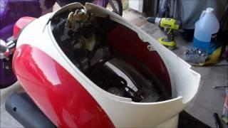 10. 2005 Honda Metropolitan (CHF50) Seat Cowl Removal