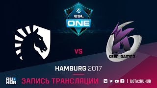 Liquid vs Keen Gaming, ESL One Hamburg, game 1 [GodHunt, LightOfHeaven]
