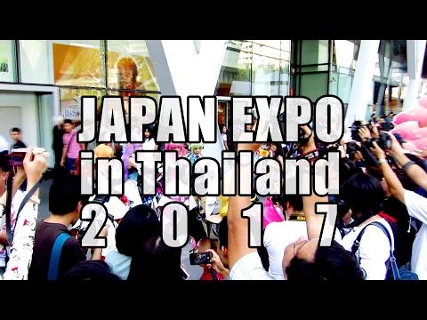 พาชมไฮไลต์ บรรยากาศกิจกรรมและคอสเพลย์งาน Japan Expo Thailand 2017