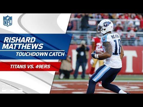 Video: Marcus Mariota Finds Rishard Matthews for Big TD vs. San Fran! | Titans vs. 49ers | NFL Wk 15