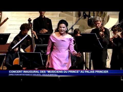 Premier concert des musiciens du Prince au Palais princier