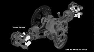 7. BMW R1200 engine & gearbox components