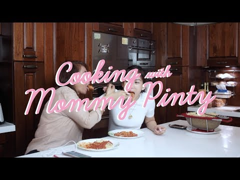 "Cooking ""Spaghetti Ala Mommy Pinty Style"" By Alex Gonzaga"