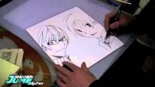 Nonton Takeshi Obata Drawing Bakuman Ashirogi Muto   Mashiro E Takagi Film Subtitle Indonesia Streaming Movie Download