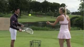 テニス世界ランキング一位ジョコビッチVSシャラポアが行なった対決プロモーションのオチが秀逸