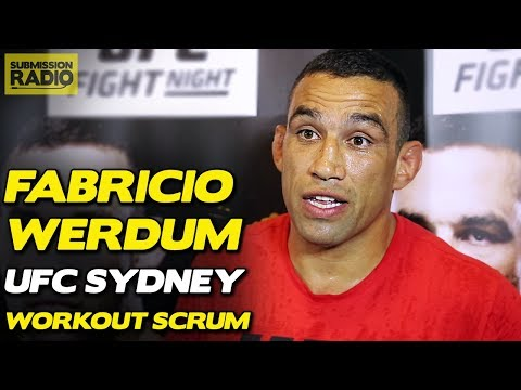 Fabricio Werdum Gives His Side of Colby Covington Boomerang Incident (видео)