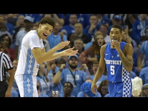 UNC's Justin Jackson Explains Trash Talking Malik Monk | CampusInsiders (видео)